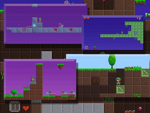 Explorer Platformer Game Pack