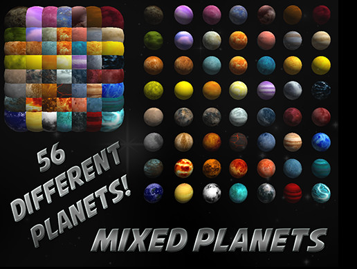 Mixed Planet Pack