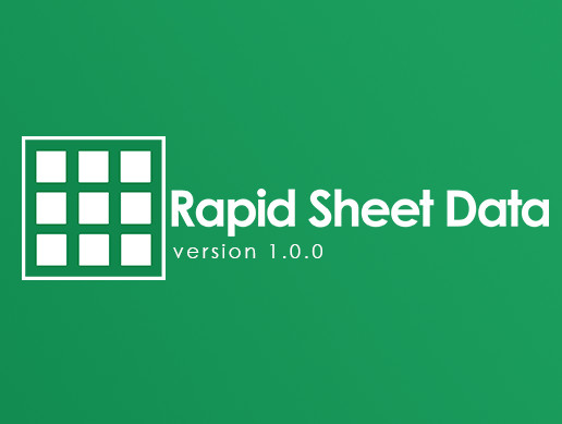 Rapid Sheet Data
