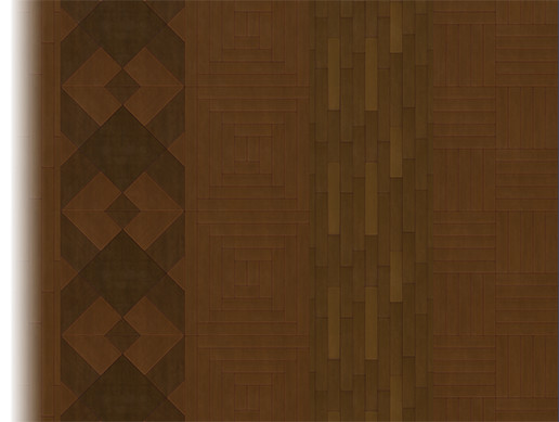 Stylized Wood Floor Tiles