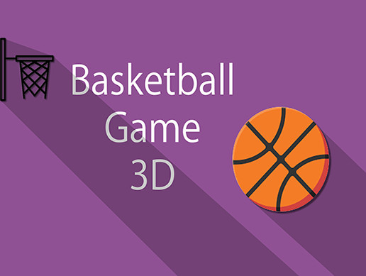 Basketball game 3D with trajectory and swipe for Android and IOS