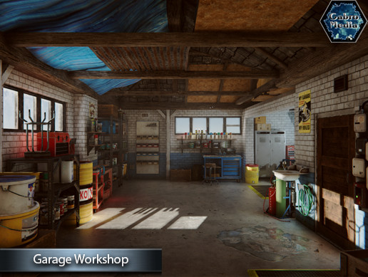 Garage Workshop Asset Store