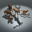 ANIMALS PACK lowPoly