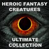 HEROIC FANTASY CREATURES ULTIMATE COLLECTION BUNDLE