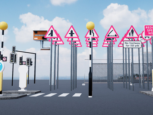 Road Traffic Props