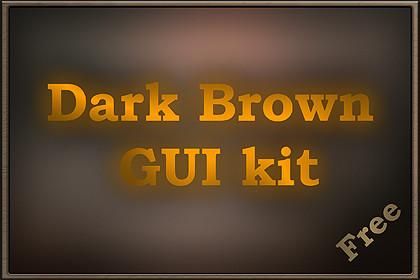 Dark Brown GUI kit