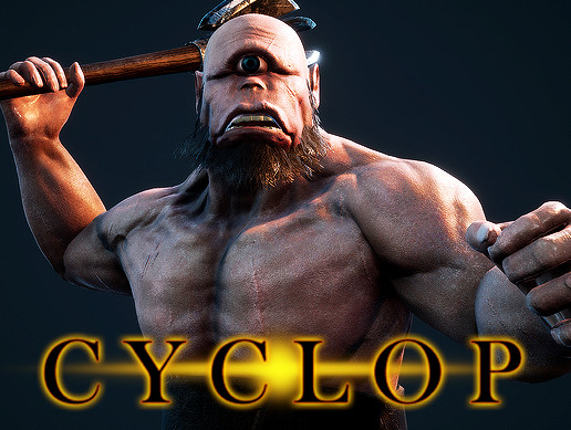 Cyclop PBR Animated