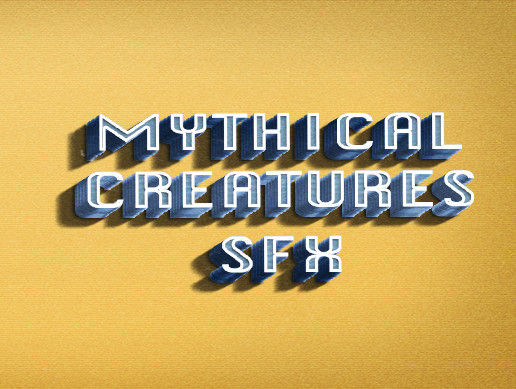 Mythical creatures Sound Fx