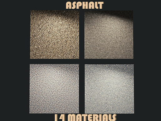 Asphalt materials