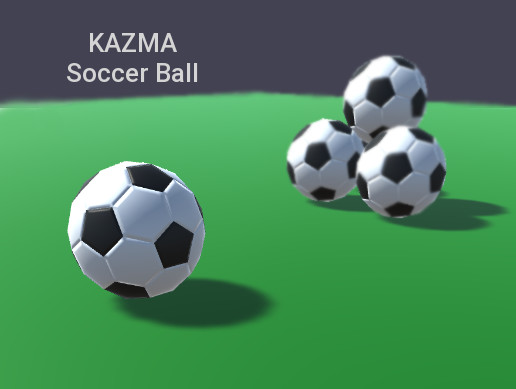 Low Polygon Soccer Ball