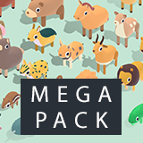 Quirky Series - Animals Mega Pack Vol.3