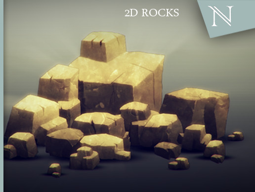 2D Rocks (Narcissus Project)