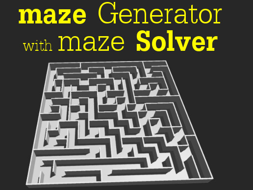 Maze Generator (DFS Based) - Asset Store