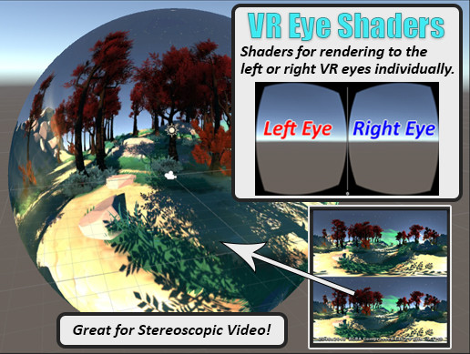 VR Eye Shaders