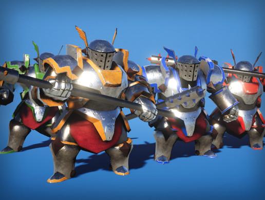 Heavy Knight PBR