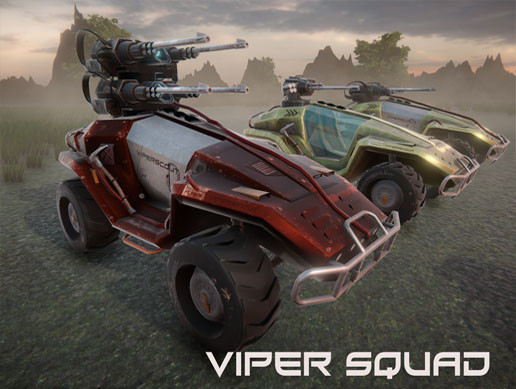 ViperSquad vehicle collection