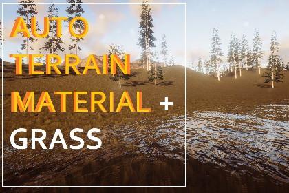 Geo Grass - Auto Terrain Material