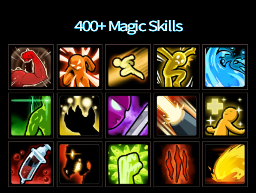 400+ Magic Skills