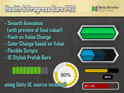 Health and Progress Bars Pro - Asset Store