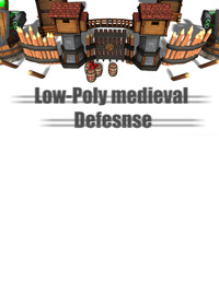 Medieval Defense [Low-Poly , All maps]