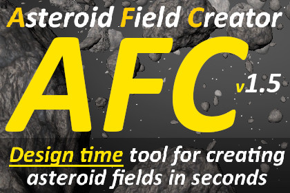 Asteroid Field Creator 1.5