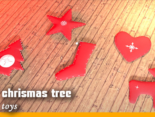 Chrismas tree toys