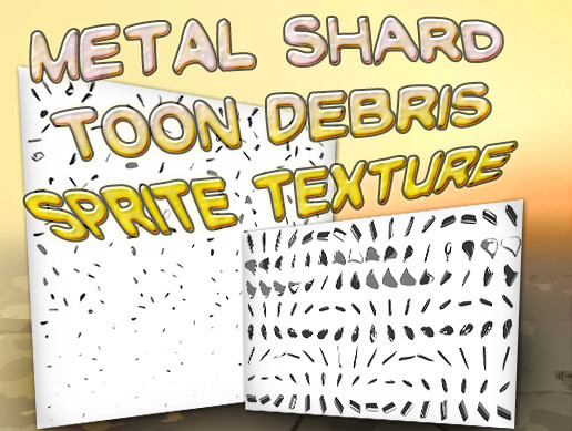 Debris Toon VFX Texture Free - Asset Store