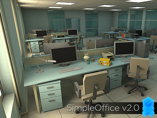 Simple Office - Asset Store