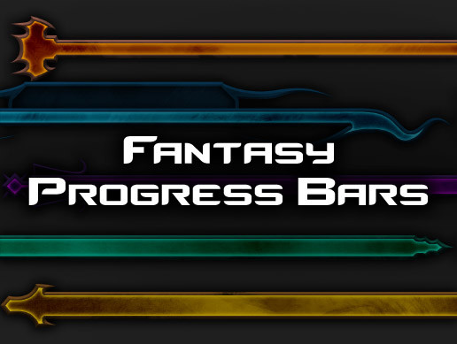 Progress Bars - Fantasy UI Pack 2