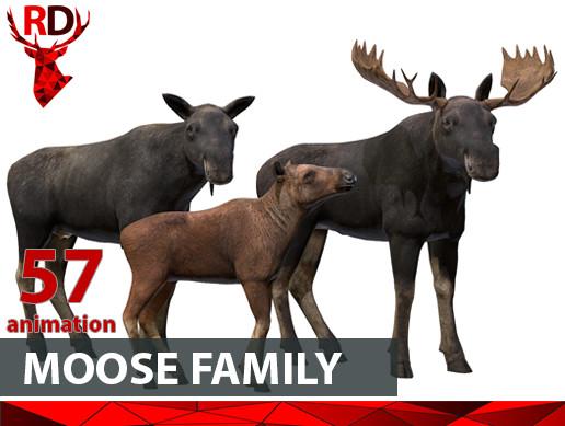 Moose Family (full)