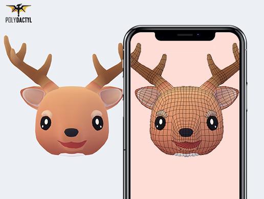 Dash the Deer - Animoji
