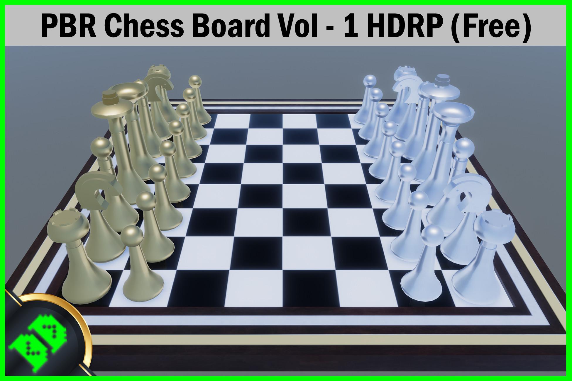 PBR Chess Board Vol - 1 HDRP