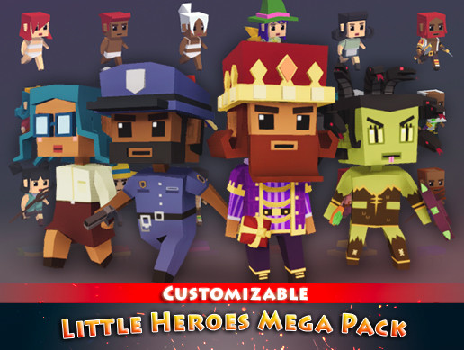 Little Heroes Mega Pack - Asset Store