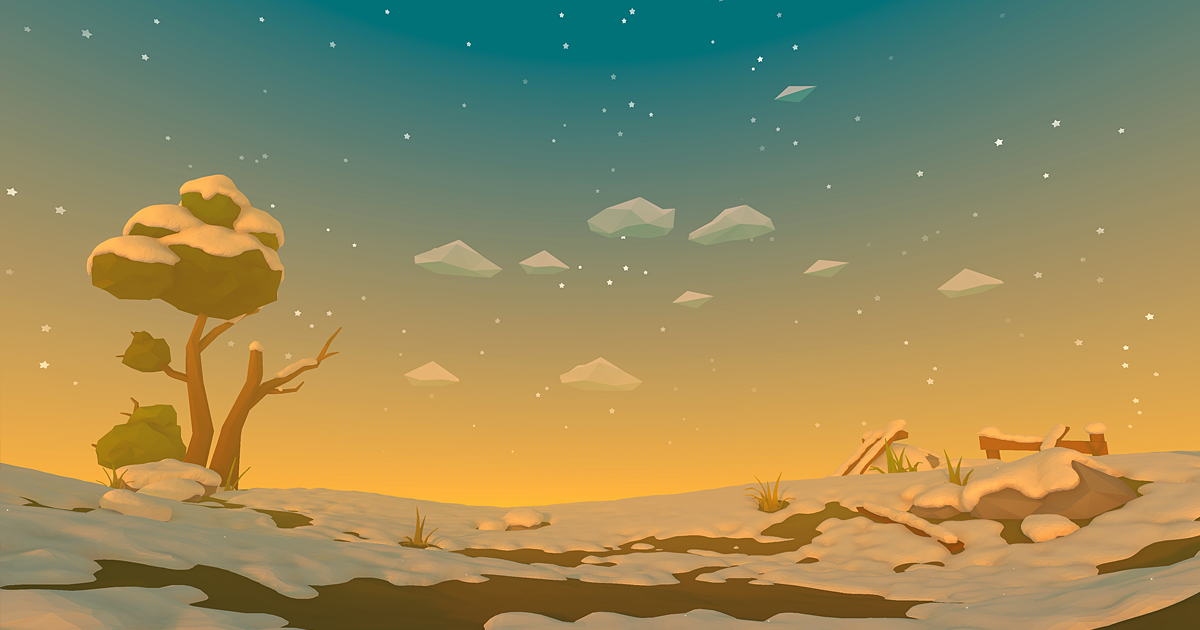 Polyverse Skies • Low poly skybox shaders and textures