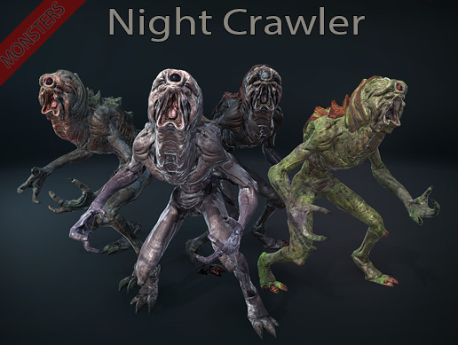 Monsters - Night Crawler