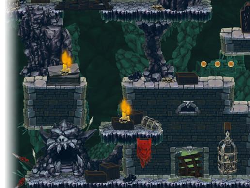 Creepy Dungeon - Platform Tileset - Asset Store