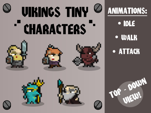 VIKINGS TINY CHARACTERS