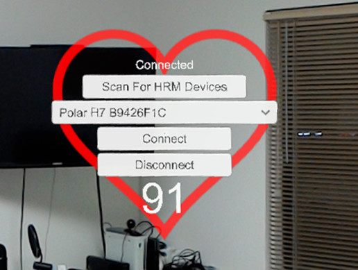 Windows and HoloLens Heart Rate Monitor Plugin - Asset Store
