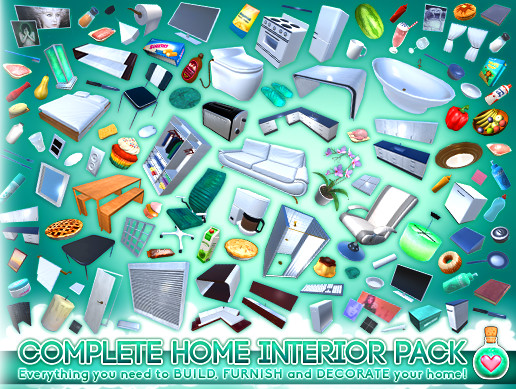 Complete Home Interior Pack