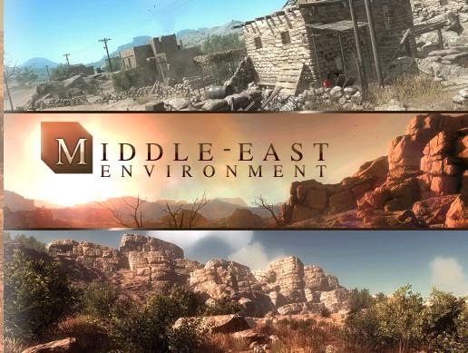 Military Desert Outpost