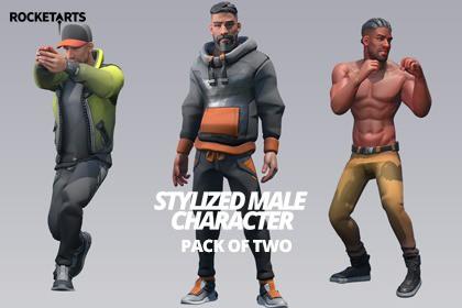 Stylized Modular Character (Male)