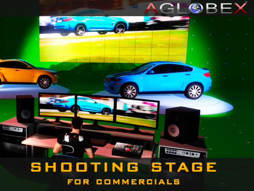Shooting Stage for Commercials