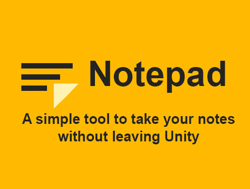 [NOTEPAD]: Notes in Unity