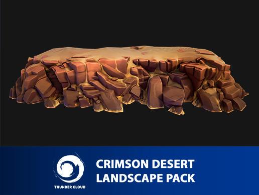 Crimson Desert Landscape Cliff Pack