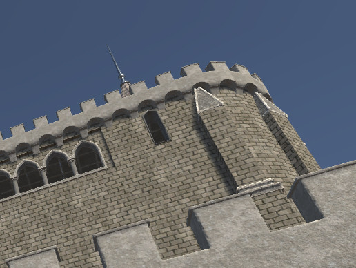 Medieval Castle and Church Pack