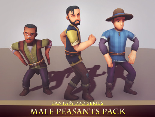 Male Peasants Pack