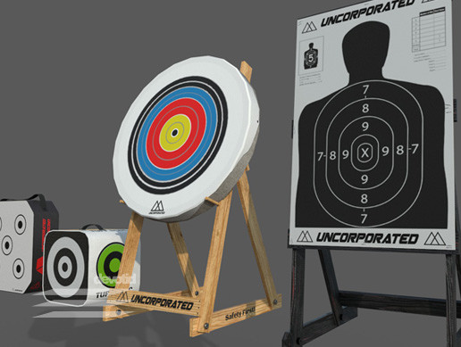 Archery Rifle Target Pack