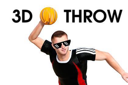 Throw Object 3D: Mobile, Desktop, FPS — Throw Ball, Throw Weapon