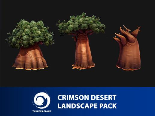Crimson Desert Landscape BigTree pack