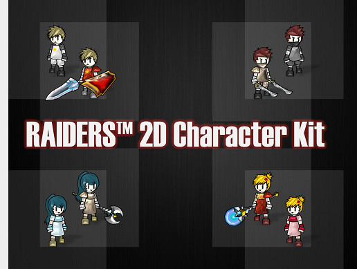 Raiders 2D Character Kit